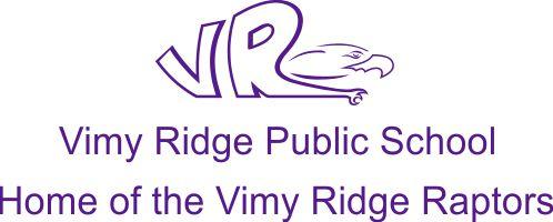 Vimy Ridge Public School Logo